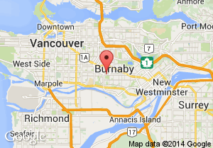 Central Park Burnaby - Map and Address on