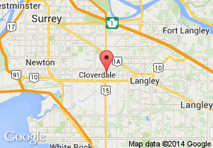 Cloverdale Arena Map and Address