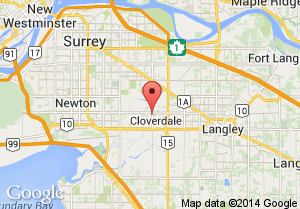 Cloverdale Athletic Park Map and Address